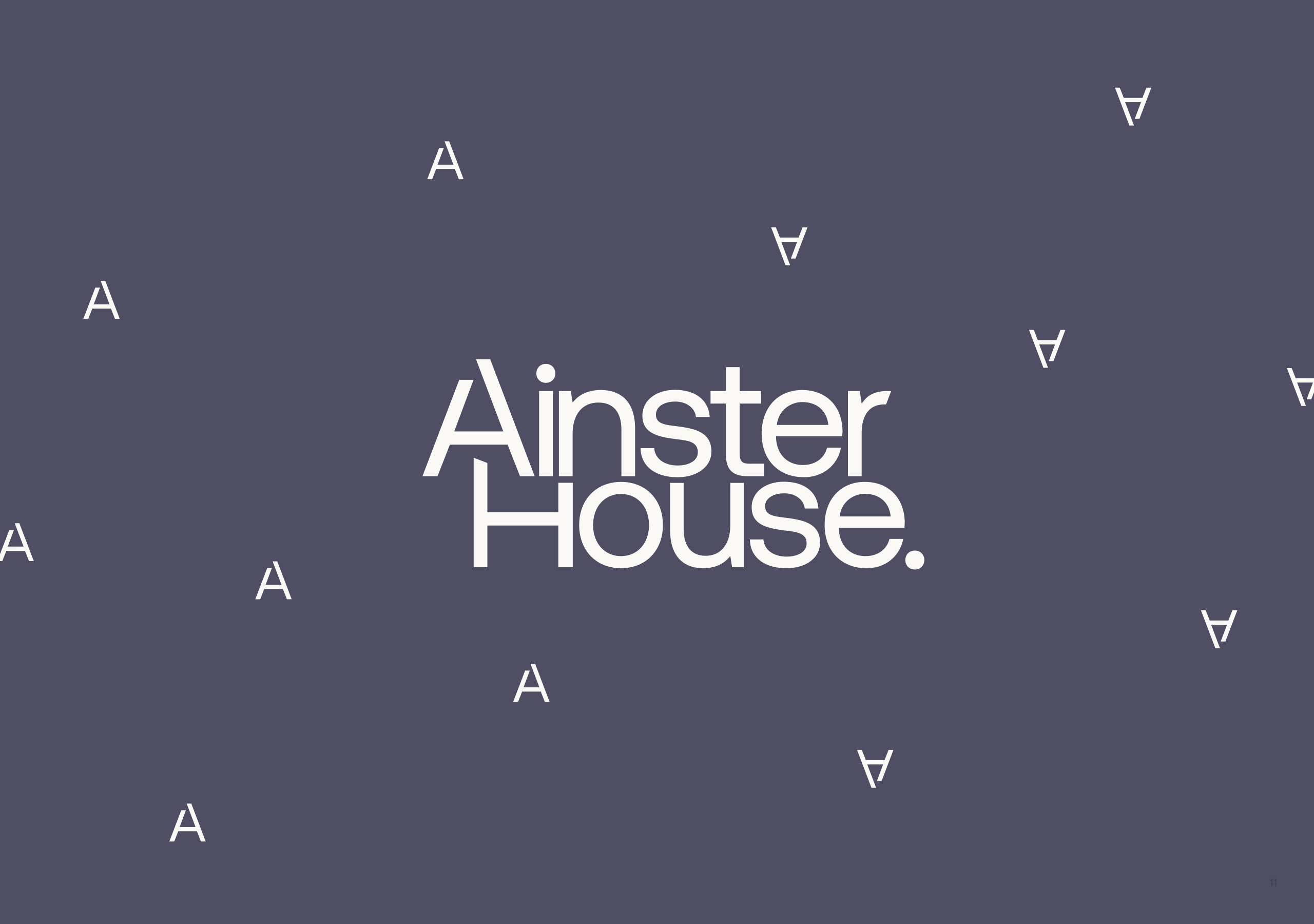 Ainster House Logo
